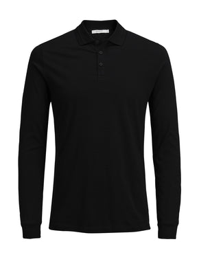 T-SHIRT MANCHES LONGUES STYLE POLO
