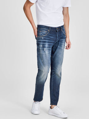 FRED 115 TAPERED FIT CROPPED JEANS