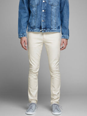 SLIM FIT GLENN 689 WHITE JEANS