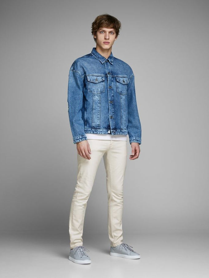 SLIM FIT GLENN 689 WHITE JEANS WHITE DENIM