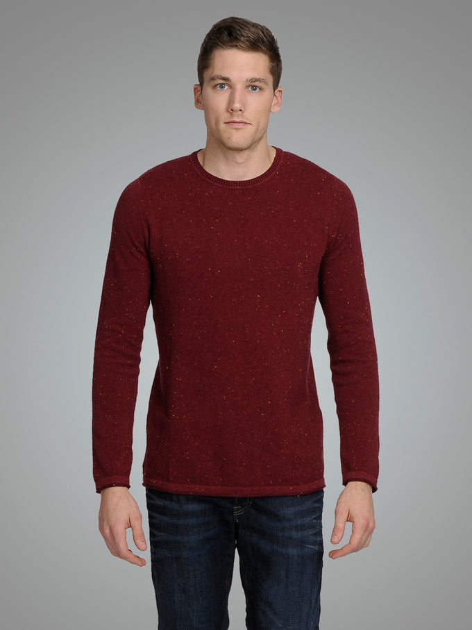 FLECKED ORIGINALS SWEATER PORT ROYALE