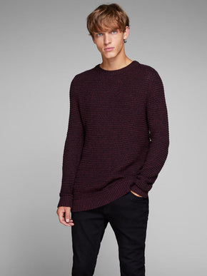 LOOSE FIT MELANGE SWEATER