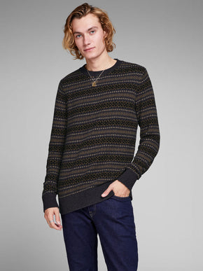 FAIR ISLE WOOL SWEATER