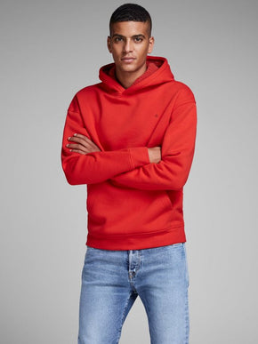 COLOURFUL HOODIE WITH TEDDY LINING