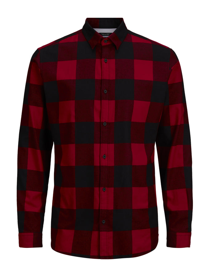 SLIM FIT CLASSIC CHECKERED SHIRT SCOOTER