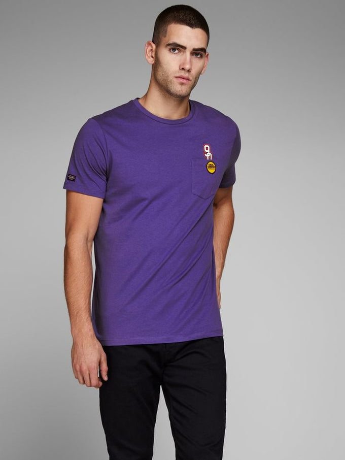 728fd6bfe876 STATEMENT POCKET T-SHIRT DEEP WISTERIA