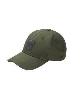 LOGO HAT WITH BUCKLE STRAP
