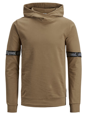 HOODIE WITH URBAN DETAILS