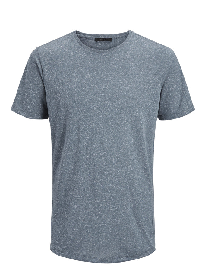LONG FIT TWO-TONE PREMIUM T-SHIRT DARK SLATE