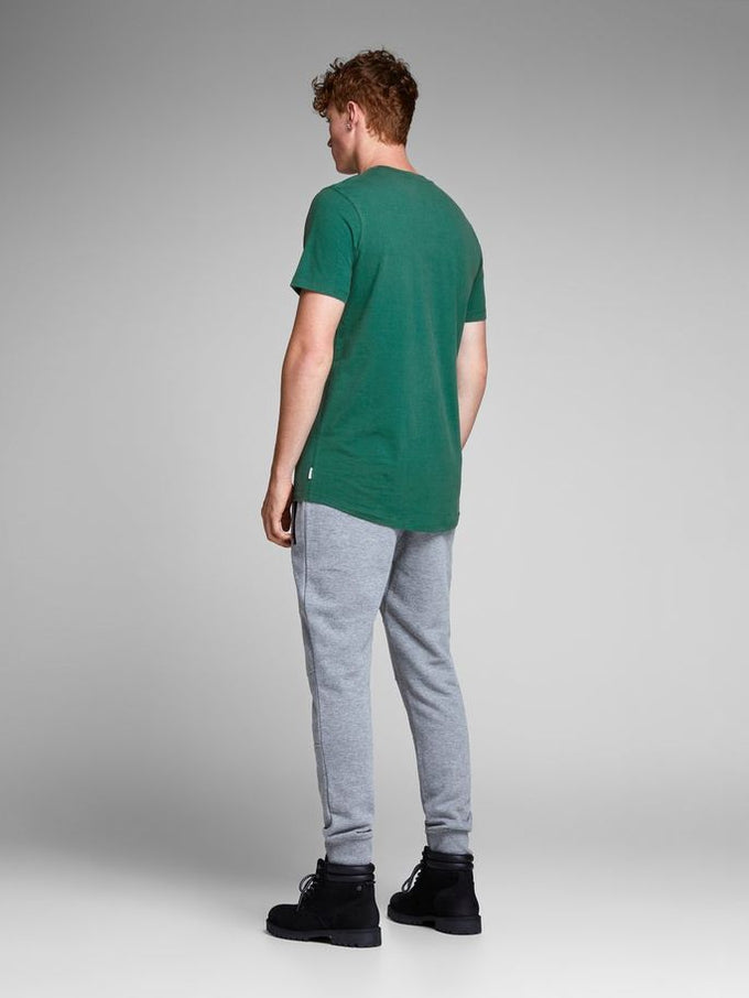 HIGH-LOW CORE T-SHIRT EVERGREEN