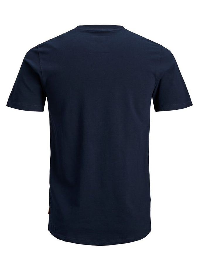 HIGH-LOW CORE T-SHIRT SKY CAPTAIN