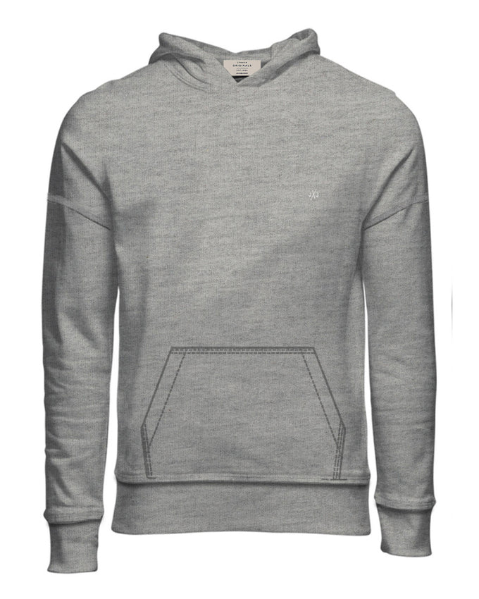 OVERSIZE BASIC SWEATSHIRT LIGHT GREY MELANGE