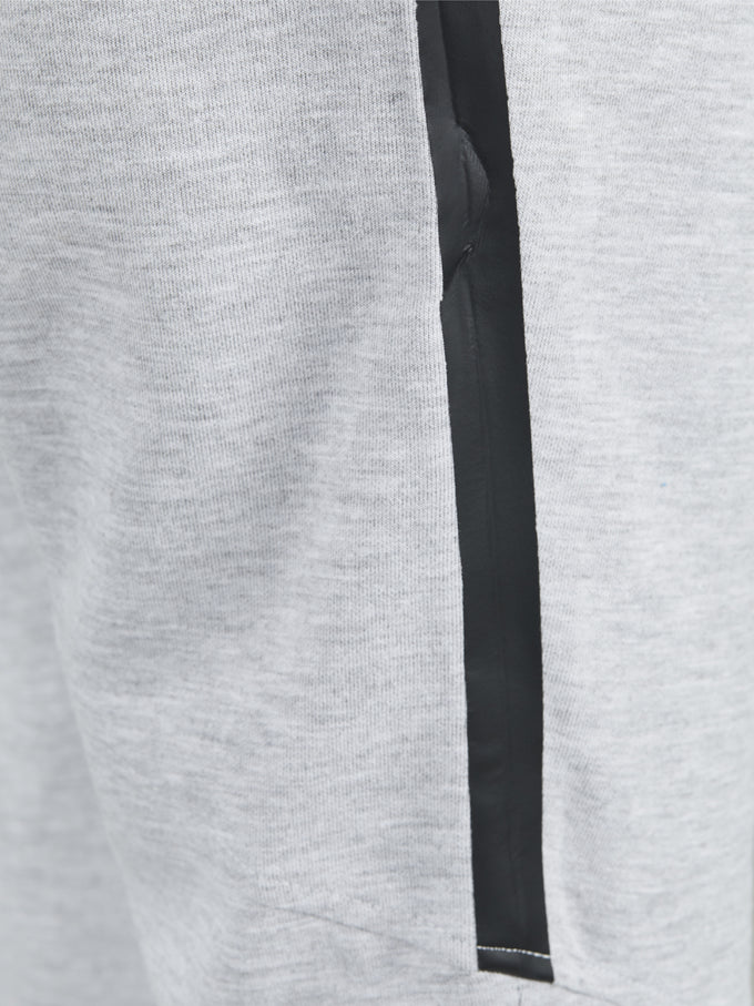 PERFORMANCE SWEATPANTS LIGHT GREY MELANGE