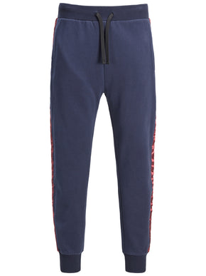 SWEATPANTS WITH SATEEN TAPE