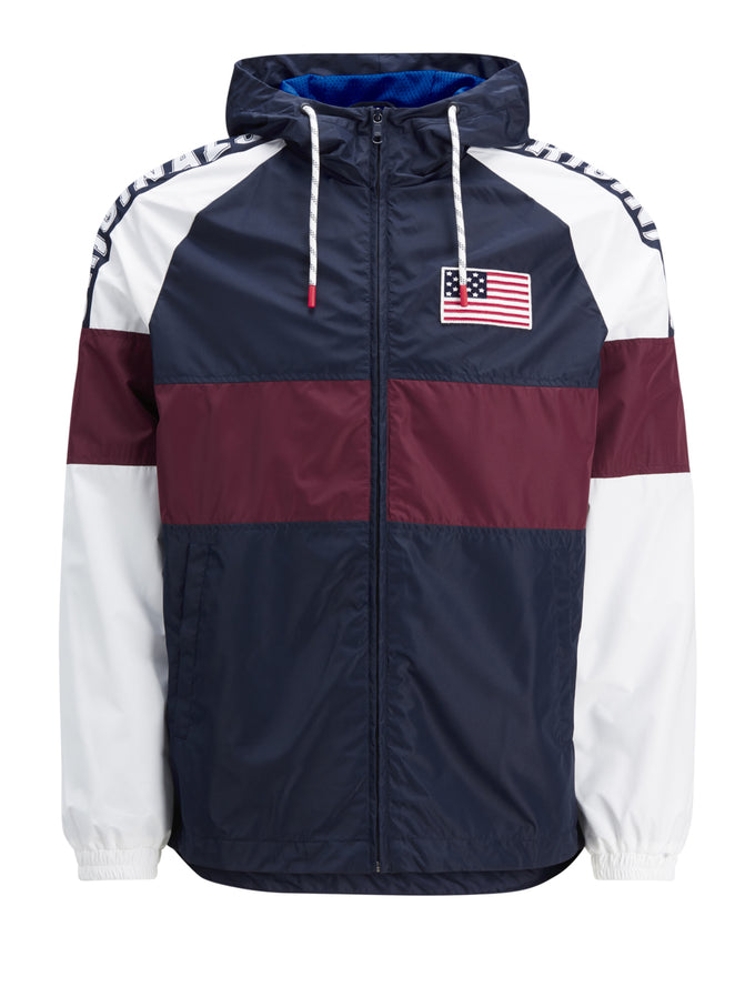 USA FLAG COLOURBLOCK JACKET TOTAL ECLIPSE