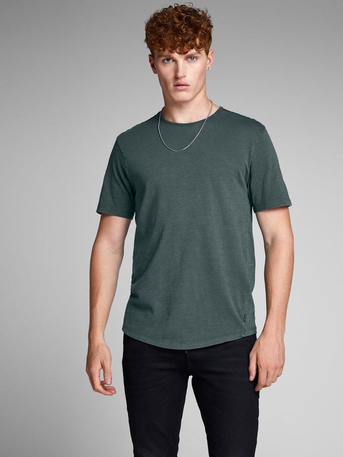 PREMIUM WASHED T-SHIRT DARK SLATE