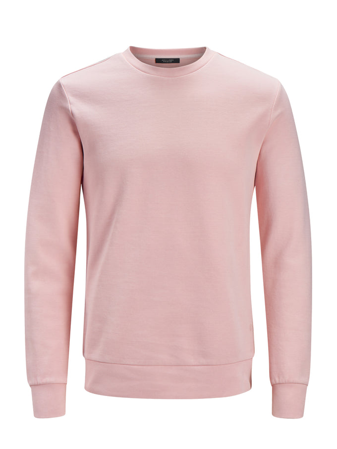 PREMIUM WASHED SWEATSHIRT PALE BLUSH