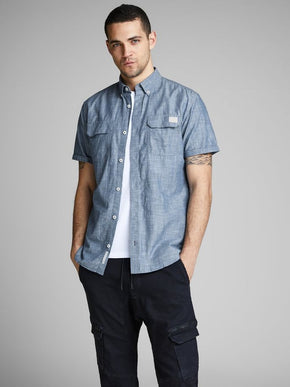 WORKER STYLE SHORT SLEEVE SHIRT