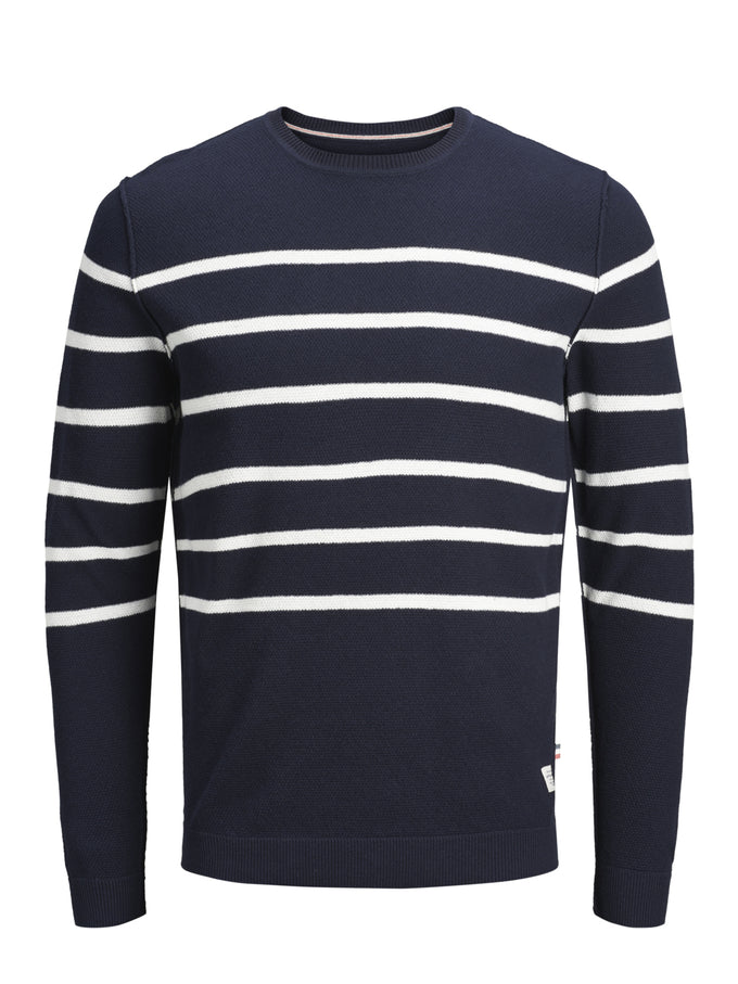 NAUTICAL STRIPES SWEATER TOTAL ECLIPSE