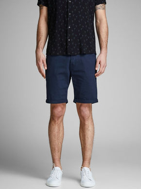 CLASSIC DENIM REGULAR FIT SHORTS