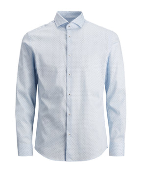 FINAL SALE – SLIM FIT MICRO-PRINT DRESS SHIRT