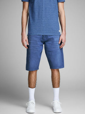 RICK 956 LONG DENIM SHORTS