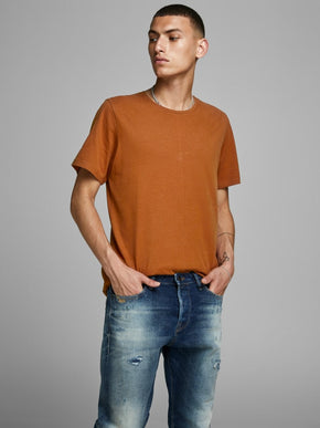 MELANGE PREMIUM LONG FIT T-SHIRT