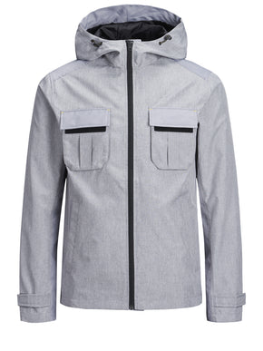 WATER-REPELLENT UTILITY STYLE JACKET