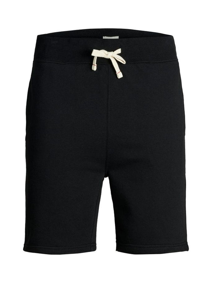ESSENTIAL BASIC SWEAT SHORTS BLACK
