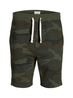 ESSENTIAL CAMO SWEAT SHORTS