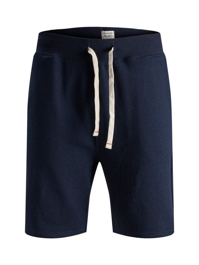 ESSENTIAL BASIC SWEAT SHORTS NAVY BLAZER