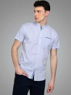 MANDARIN COLLAR ORIGINALS SHIRT
