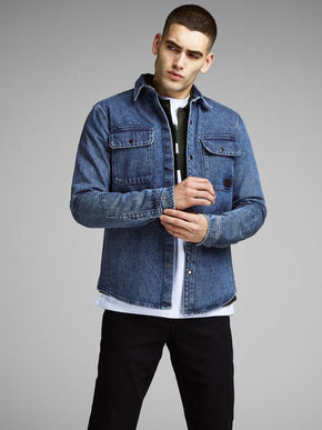 SURCHEMISE EN DENIM