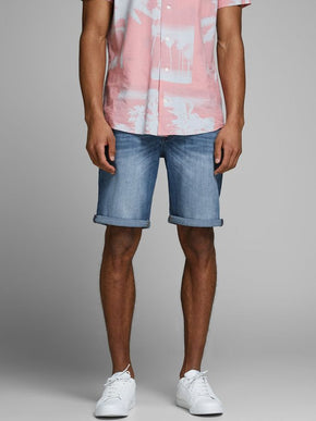 RICK 808 SUPER STRETCH DENIM SHORTS