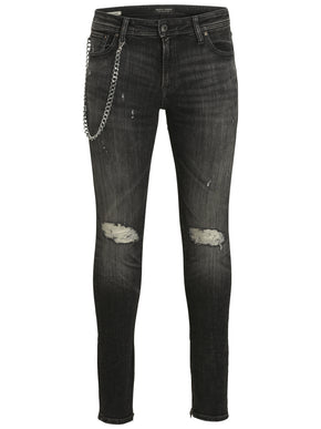 SKINNY FIT LIAM 797 JEANS WITH CHAIN