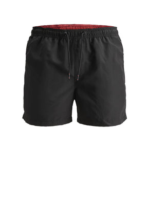 SWIM SHORTS WITH ZIPPED POCKETS