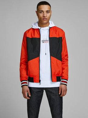 ATHLETIC REVERSIBLE BOMBER JACKET