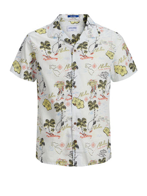 FINAL SALE –HAWAIIAN PRINT SHORT SLEEVE SHIRT
