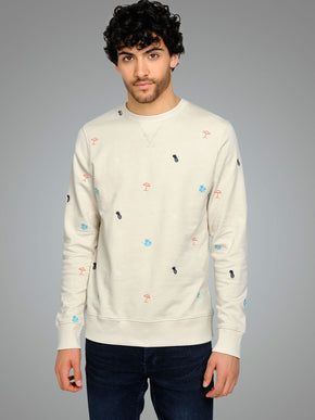 SUMMER SYMBOLS SWEATSHIRT