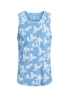 PALM TREE PRINT TANK TOP