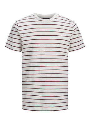 T-SHIRT WITH RETRO STRIPES REGULAR FIT