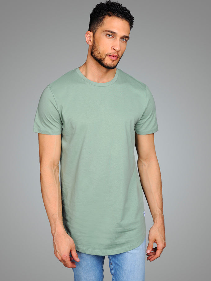NOA LONG FIT CURVED T-SHIRT GREEN BAY