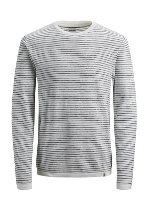 LIGHT CORE STRIPED SWEATER