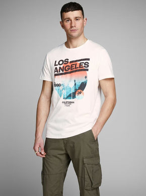 CALIFORNIA PHOTO PRINT T-SHIRT