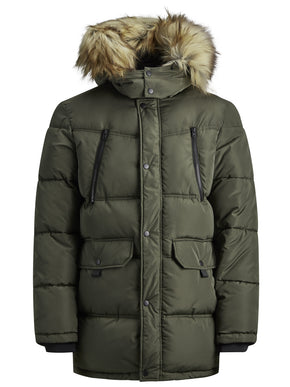 WINDPROOF PUFFER PARKA