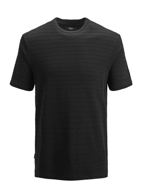 LONG FIT RIBBED T-SHIRT