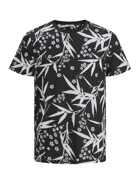 FLOWERS & LEAVES T-SHIRT
