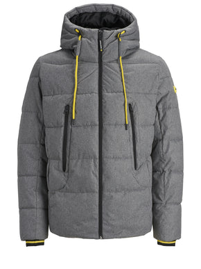 PREMIUM PUFFER JACKET WITH HIDDEN HOOD