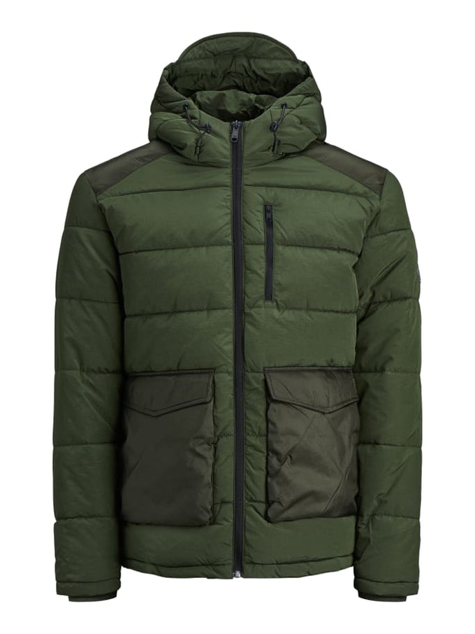 WATER-REPELLENT ADVENTURE JACKET FOREST NIGHT