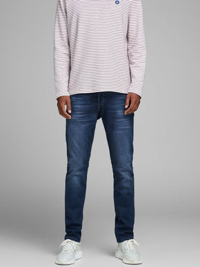 GLENN 850 INDIGO KNIT SLIM FIT STRETCH JEANS